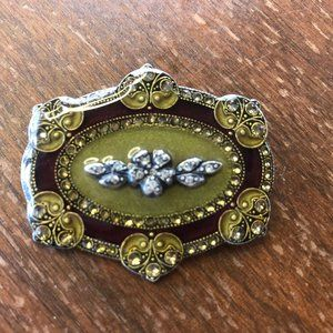 Vintage French Catherine Popesco Brooch
